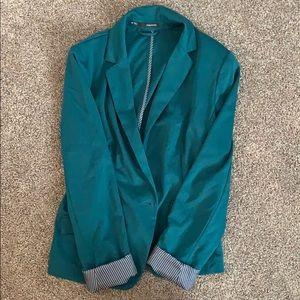 Dark green blazer